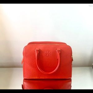 Tory Burch Red Leather Handbag